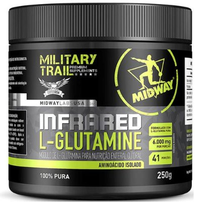 Infrared L-Glutamine 250g - Midway
