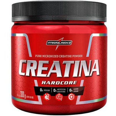 Creatina Hardcore 300g - Integralmedica