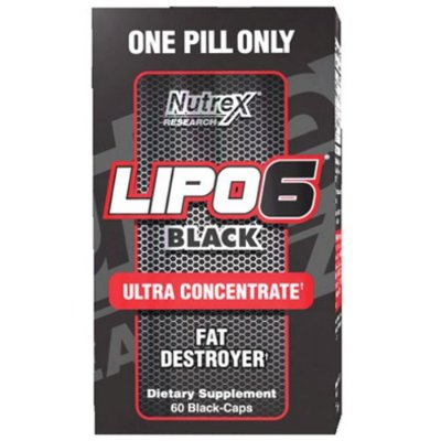 Lipo 6 Black Ultra Concentrado 60caps - Nutrex