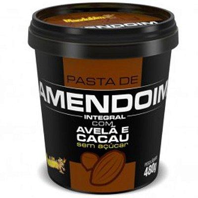 Pasta de Amendoim com avelã e cacau 480g - Mandubim