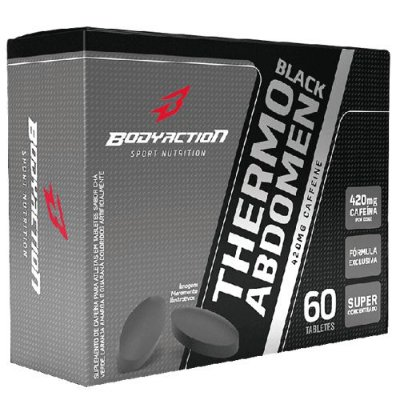 Thermo Abdomen Black 60tabs - Body Action