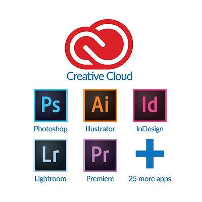 Adobe Creative Cloud 2020 Vitalício (Download)