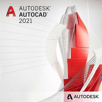 Autodesk AutoCAD 2021 LICENÇA VITALÍCIA - WINDOWS/MAC