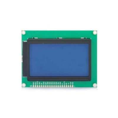 Display LCD 128x64 com Backlight Azul
