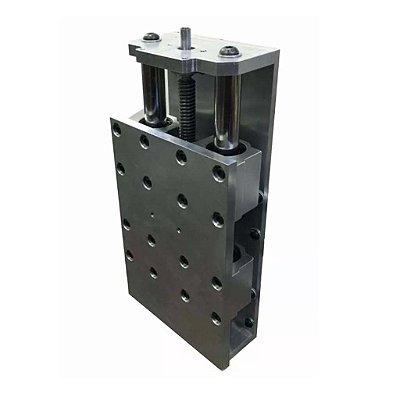 CNC Router - Conjunto Eixo Z 90mm com Fuso Trapezoidal Em Alumínio