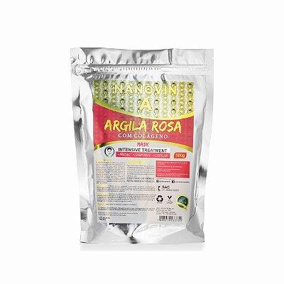 ARGILA ROSA COM COLÁGENO 500G