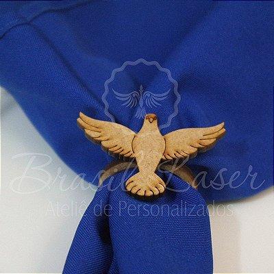 1 Porta Guardanapo em Mdf Pombo Pássaro (Pintado e Sem Pintura) - #Quant.Mínima: 10 unidades iguais# PGV 01043A
