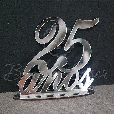 Topo de Bolo (Personalizado com a Idade que o Cliente Desejar) - TBV 01116A