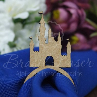 1 Porta Guardanapo Palácio Castelo Princesa - #Quant.Mínima: 10 unidades iguais# PGP 02103A