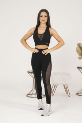 LEGGING TELA LATERAL+TOP TELA