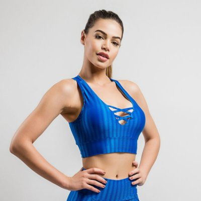 TOP FITS-NEW VISION- AZUL ROYAL