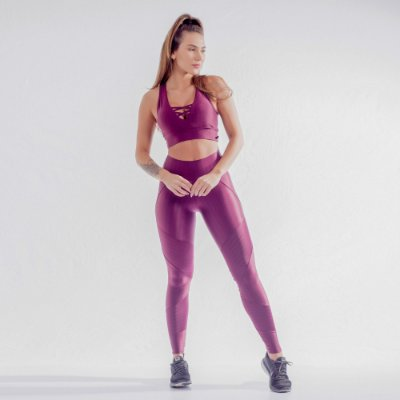 LEGGING NEW VISION+TOP FITS- BORDÔ