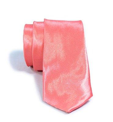 Gravata Slim Fit Rosa