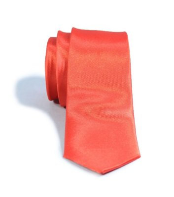 Gravata Slim Fit Vermelha