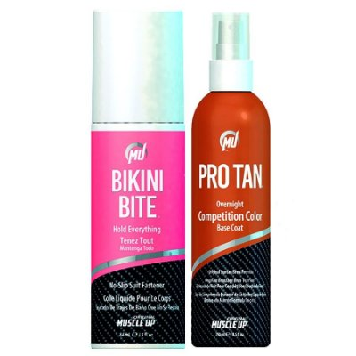1 Pro Tan Competition Color 8.5oz (250ml) + 1 Bikini Bite Suit Fastner 84ml