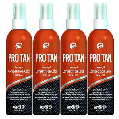 4 Unidades de Pro Tan Competition Color - Tinta Corporal para Fisiculturista