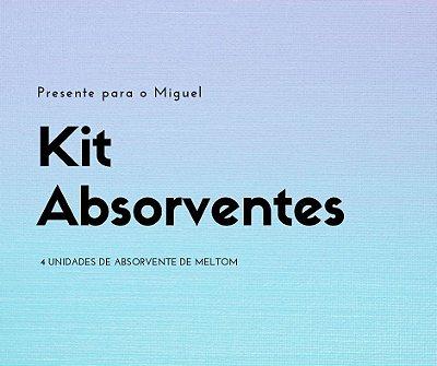 Presente para o Miguel - Kit de absorventes