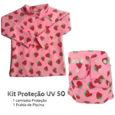 Kit Proteção morangos UV 50 +