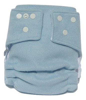 Presente para o Aruã - Fralda Ecológica Noturna Azul Bebê