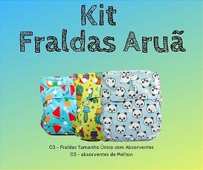 Presente para o Aruã - Kit Fraldas