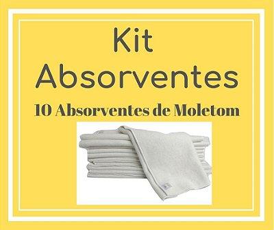 Presente para Helô - Kit Absorventes de Moletom |10 unidades