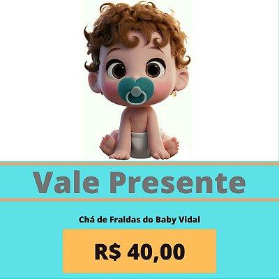 Chá de Fraldas do Baby Vidal