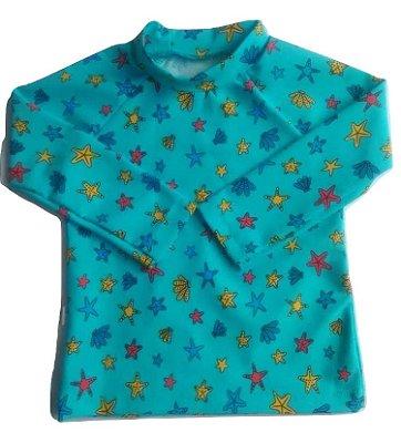 Camiseta Infantil Proteção UV 50+