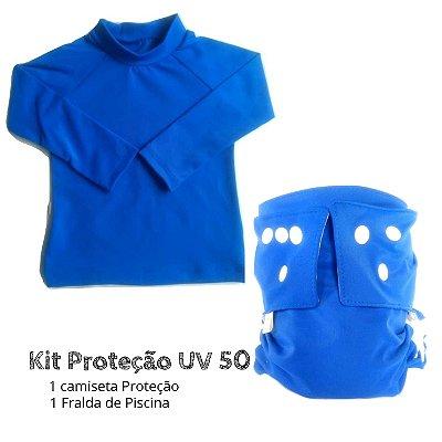 Kit Proteção Azul UV 50 +