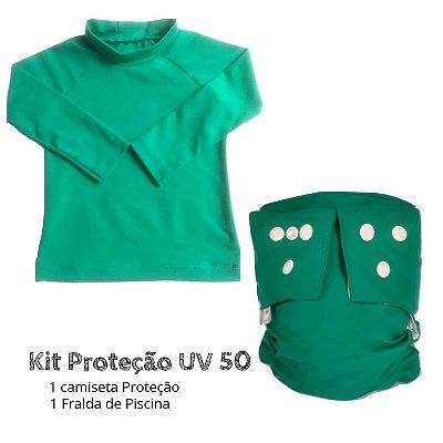 Kit Proteção verde UV 50 +