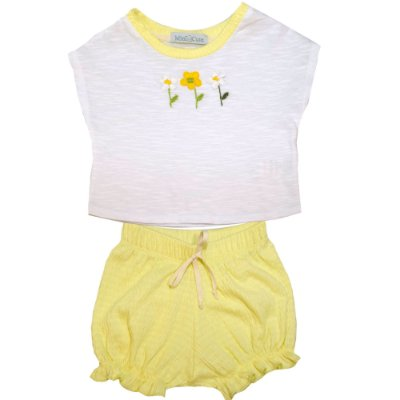 Conjunto kit blusa com shorts