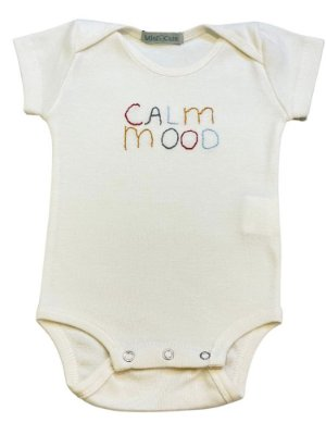Body infantil bordado calm mood