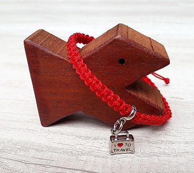Tornozeleira Vermelha