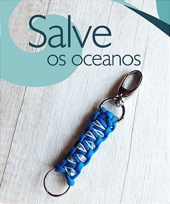 Chaveiro Oceano #salveosoceanos