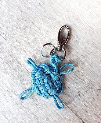 Chaveiro Tartaruga-marinha - Azul Claro