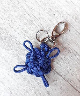 Chaveiro Tartaruga - Marinha - Azul royal
