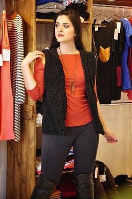 colete lã sintética