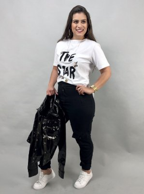 "BLUSA ESTAMPADA ""THE STAR"""