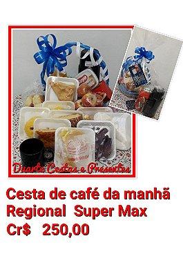 Cesta de café Regional Super Max