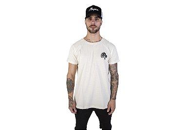 Camiseta Raglan Shoulder Cream