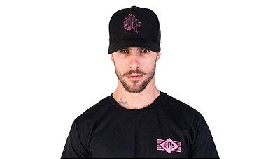 Boné Black & Pink