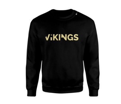 Blusa Black&Gold Vikings