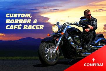 Acessórios Motos Custom, Chopper, Bobber e Café Racer