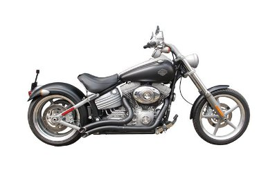 "Escapamento Torbal Harley Davidson Rocker 2009 a 2013 2"" 1/4 Furia Corte Laterial"