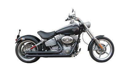 "Escapamento Torbal Harley Davidson Rocker 09-13 2 "" 1/4 Polegadas Long Lateral"