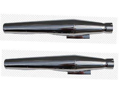 Ponteira do Escapamento Torbal Harley Davidson Ultra Glide Thunder Bolt Todos os Anos