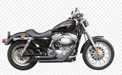 Escapamento Torbal Short Shot Harley Davidson Sportster 883 2004 a 2006 Carburada