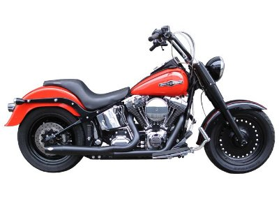 Escapamento Torbal para moto Harley Davidson Fat Boy 2012 a 2017 Thunder Bolt 2x1