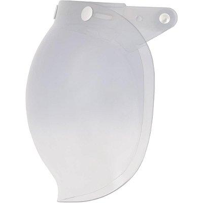 Viseira para Capacete Zeus 380F Bubble Bolha Cristal Original