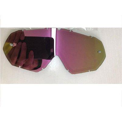 Lente de Reposição Dupla Espelhada Oculos Red Dragon modelo YH-16