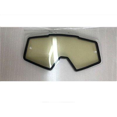 Lente de Reposição Dupla Transparente Oculos Red Dragon modelo MX YH-138